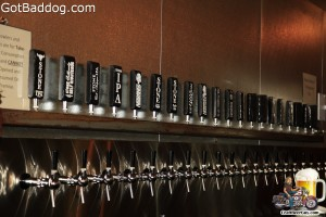 Stone Brewing Taps