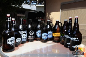 beer growler collection