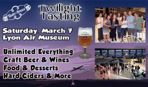 Twilight Tasting Banner