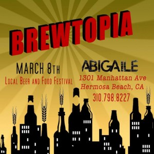 Brewtopia Beer Garden featuring 23 local craft breweries