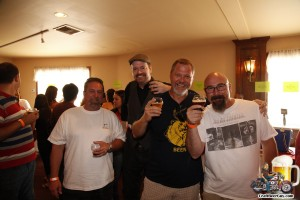 Beer fest attendees