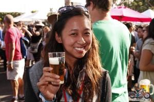 BAM Fest attendee