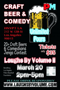 laughs by volume 2 flyer